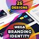 Colorful Mega Branding Identity - GraphicRiver Item for Sale