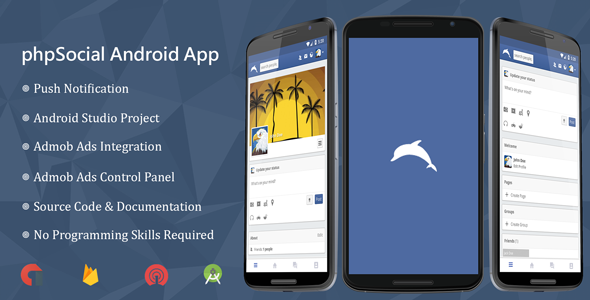 phpSocial Android Application - CodeCanyon Item for Sale