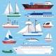 Flat Sea Ships