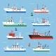 Flat Fishing Boats