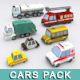 Utility Cars Pack