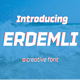 Erdemli Font - GraphicRiver Item for Sale