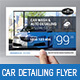 Car Detailing Flyer - GraphicRiver Item for Sale