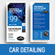 Car Detailing DL Card - GraphicRiver Item for Sale