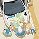 Trip People Car Map - GraphicRiver Item for Sale