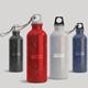 Aluminum Water Bottle Mockup - GraphicRiver Item for Sale