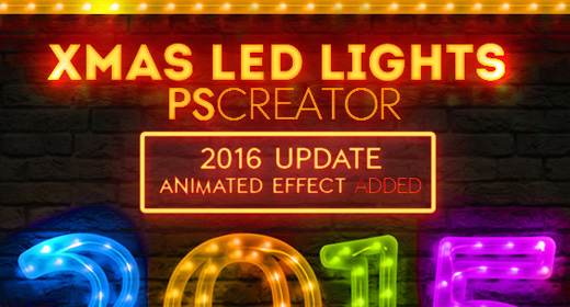 Light Signs Photoshop Actions