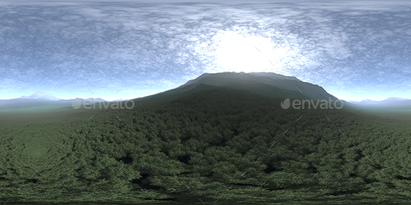 Before Noon Hill HDRI Sky - 3DOcean Item for Sale