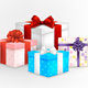 Set of Gift Boxes - GraphicRiver Item for Sale