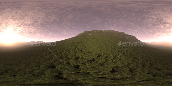 Evening Hill HDRI Sky - 3DOcean Item for Sale
