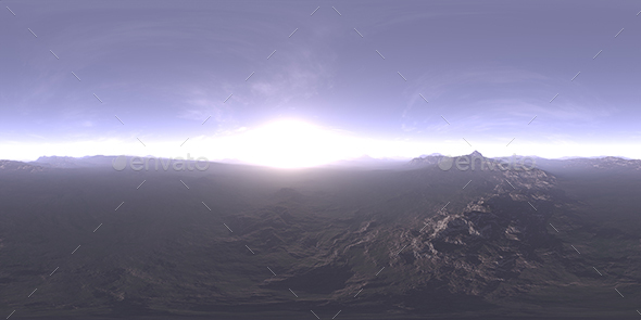 Morning Tundra HDRI Sky - 3DOcean Item for Sale