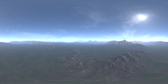Afternoon Tundra HDRI Sky - 3DOcean Item for Sale