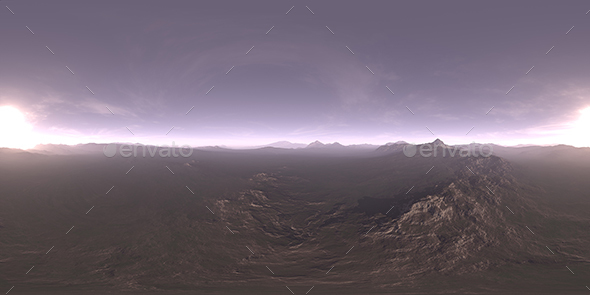 Early Evening Tundra HDRI Sky - 3DOcean Item for Sale