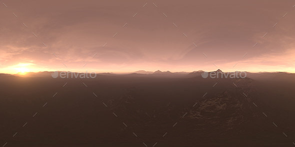 Late Evening Tundra HDRI Sky - 3DOcean Item for Sale