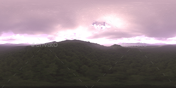 Morning Forest HDRI Sky - 3DOcean Item for Sale