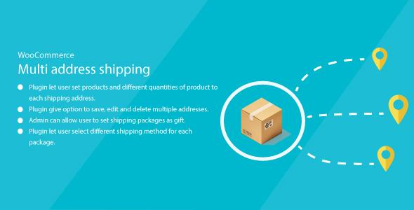 WordPress WooCommerce MultiAddress Shipping            Nulled