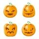 Cartoon Jack O Lantern Halloween Pumpkin