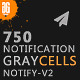 Graycells - 750 Responsive Email Notification with StampReady Online Builder Access - ThemeForest Item for Sale