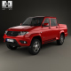 UAZ Patriot (23632) Pickup with HQ interior 2014