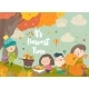 Cartoon Children Harvesting in Autumn Garden - GraphicRiver Item for Sale