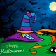Witch Hat Halloween Illustration - GraphicRiver Item for Sale