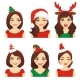 Christmas Emotions Woman