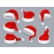 Santa Hats - GraphicRiver Item for Sale
