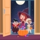 Halloween Trick or Treat Background - GraphicRiver Item for Sale