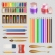 Realistic Artistic Tools Isolated - GraphicRiver Item for Sale