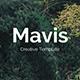 Mavis Premium Google Slide Template - GraphicRiver Item for Sale