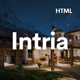 Intria - Architecture and Interior HTML Template - ThemeForest Item for Sale