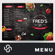 Burguer Menu Template - GraphicRiver Item for Sale