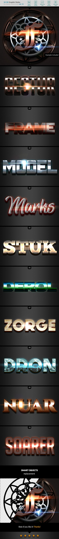 10 3D Styles vol. 11 - Styles Photoshop