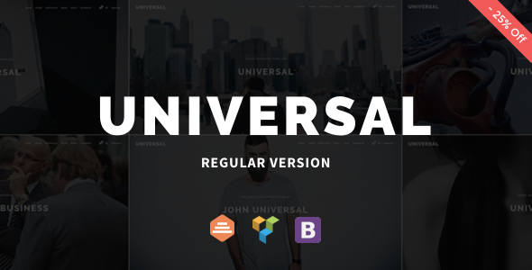 Universal - Corporate WordPress Multi-Concept Theme