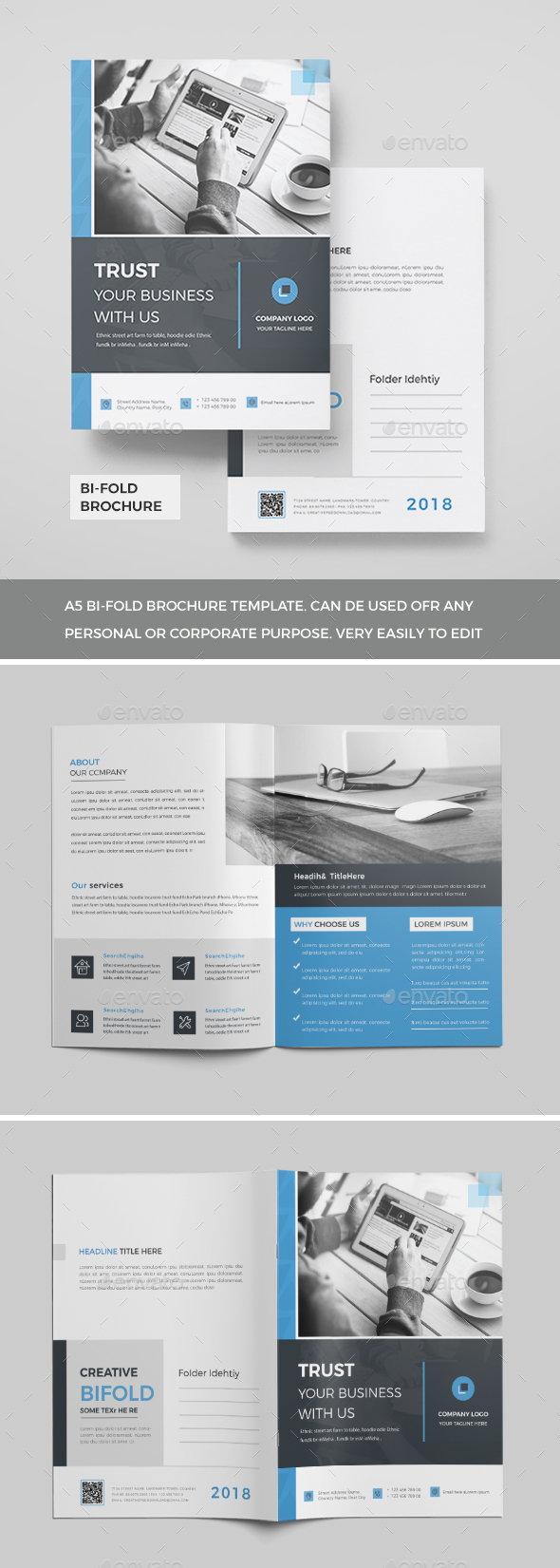 Corporate Brochure Templates From GraphicRiver - Company brochure templates