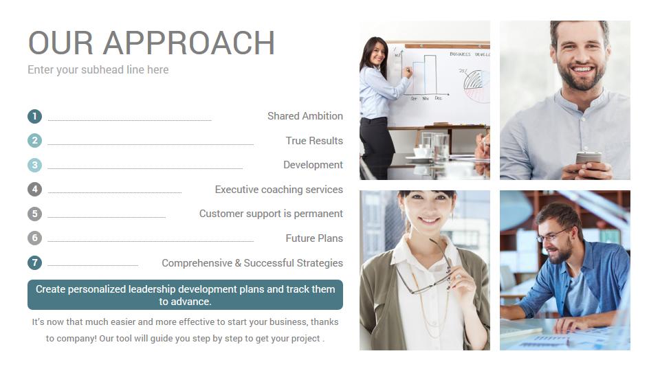Stunning Company Profile PowerPoint Presentation Template