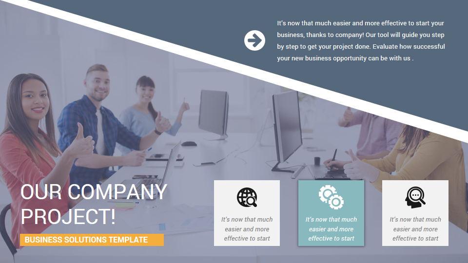 Stunning company profile powerpoint presentation template by ciloart png previewcompany profile powerpoint template 042 flashek Image collections