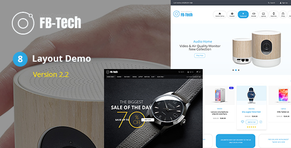 FB Tech - Digital RTL WooCommerce Theme