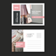 Beauty Fashion Postcard - GraphicRiver Item for Sale
