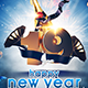 A4 New Years Eve Poster Template - GraphicRiver Item for Sale