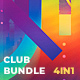 Modern Party & Club Flyer Poster Bundle Pack - GraphicRiver Item for Sale