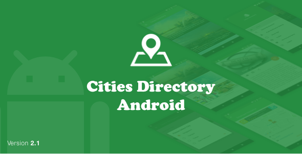 CitiesDirectory  (Directory Android App Based On Cities With Material Design) V2.1 - CodeCanyon Item for Sale