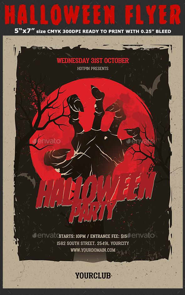 Halloween Flyer Template - Events Flyers