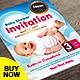 Baby Shower Flyer - Invitation Flyer - GraphicRiver Item for Sale