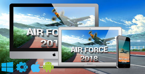 Air Force 2018 - CodeCanyon Item for Sale