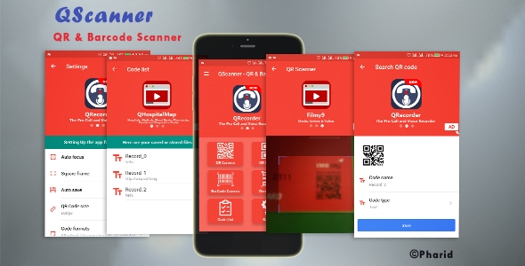 QScanner - QR & Barcode Pro - CodeCanyon Item for Sale