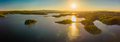 Aerial panoramic image of Sansonvale lake, Brisbane, Australia - PhotoDune Item for Sale