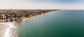 Drone view of Woody Point and Margate on Redcliffe peninsula, Br - PhotoDune Item for Sale