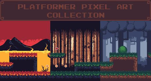 Platformer Pixel Art Pack