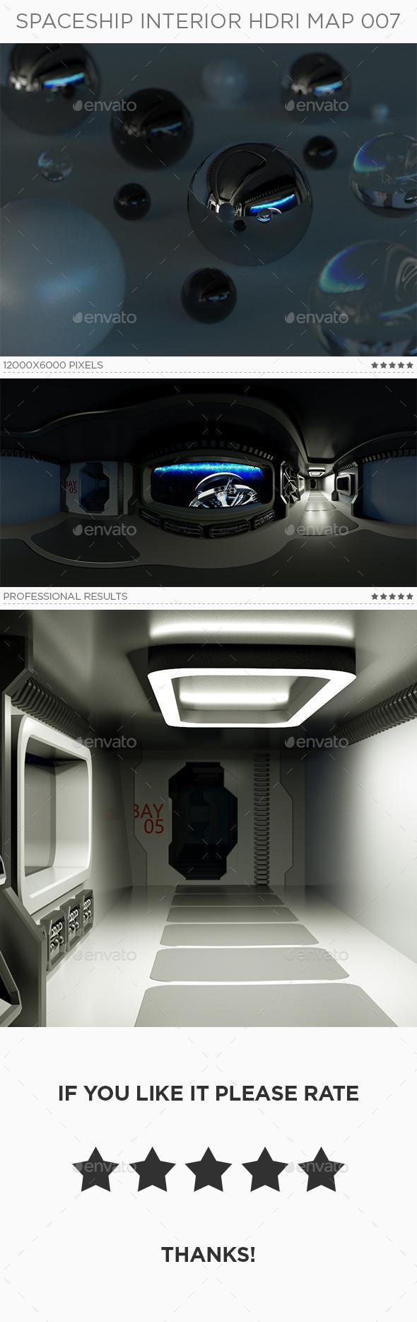 Spaceship Interior HDRi Map 007 - 3DOcean Item for Sale